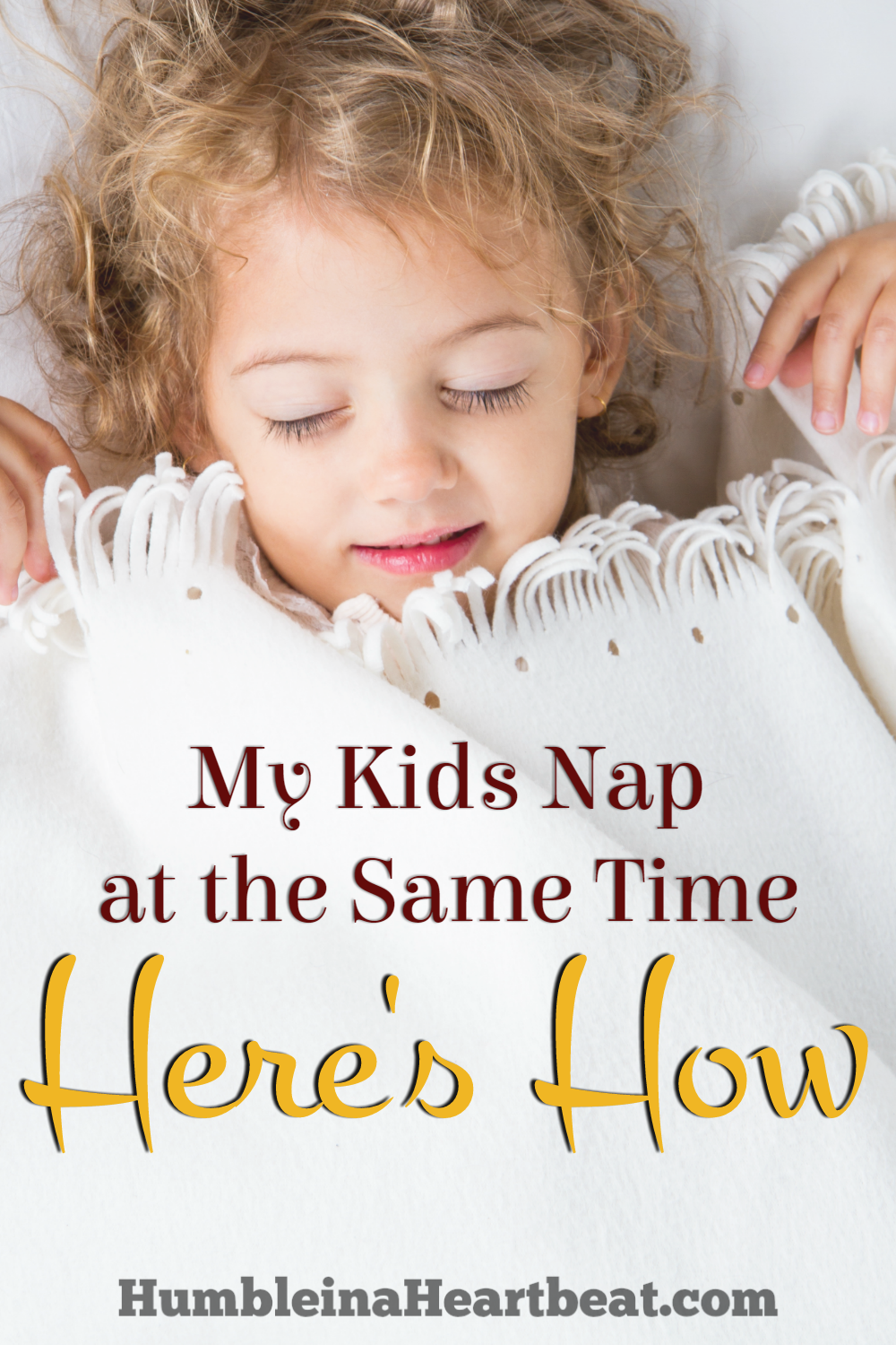 Getting toddlers and babies to take a nap at the same time each day can be tricky if you don't know what you're doing. Here are some things I do each day to make sure my toddlers both take a nap.