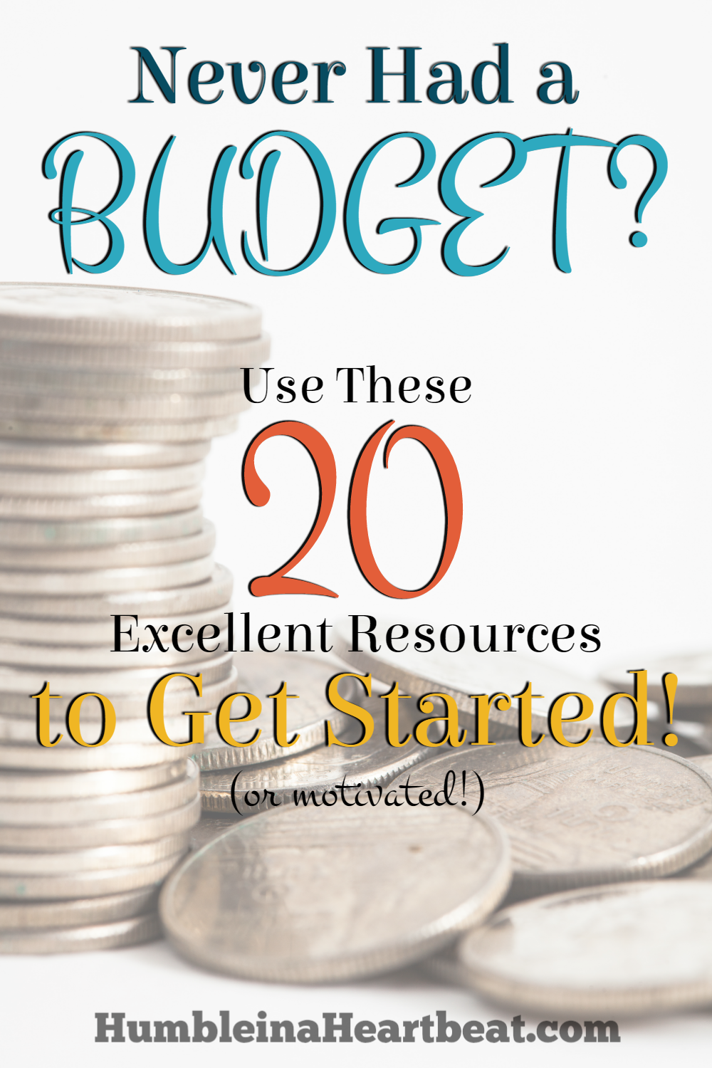 Budgeting can seem challenging for anyone who has never done it. So here are 20 excellent resources to help you get a budget started now and reach your goals faster!