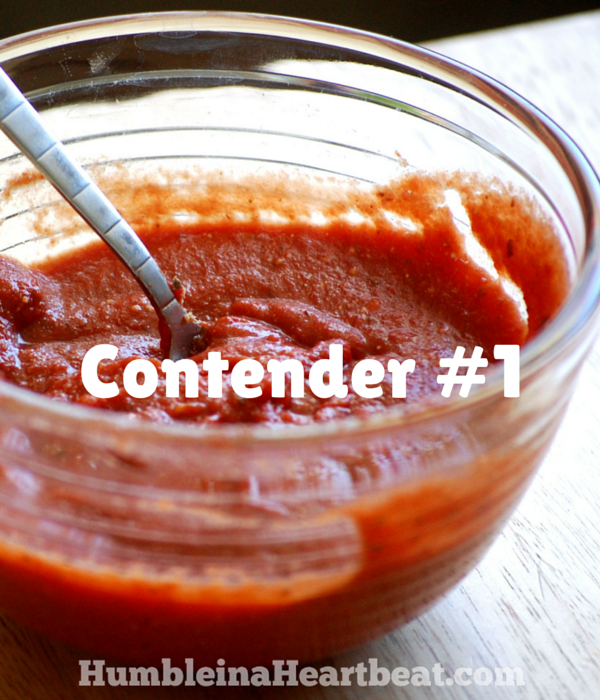 Need an amazing recipe for homemade pizza sauce? These three sauces went head to head in a taste test that will make you want to try all three for yourself!
