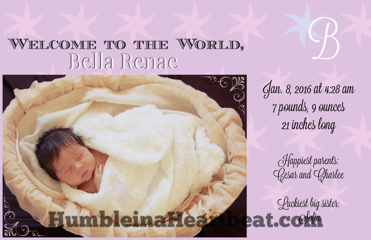 How To Create Your Own Birth Announcements To Save Money Feeding