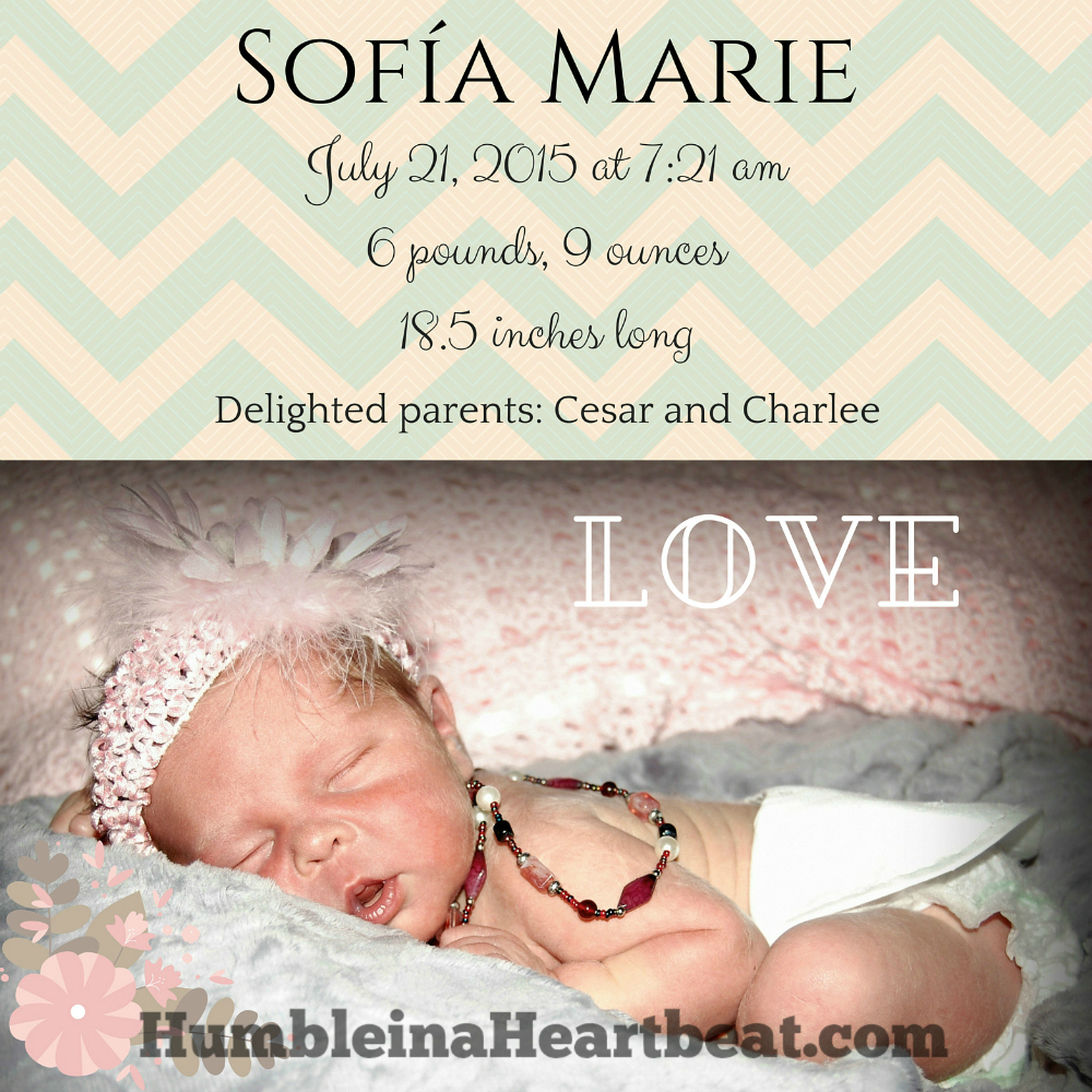 How to Create Your Own Birth Announcements to Save Money – Photo Birth Announcement