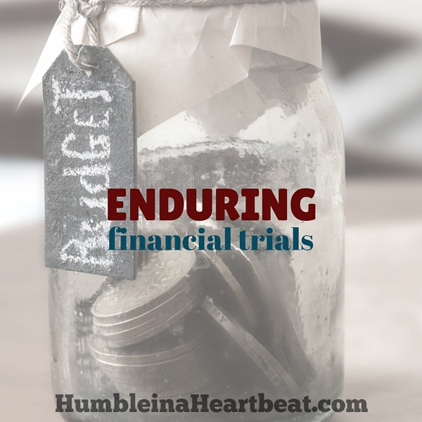 Going through a period (or several) of financial hardships can feel lonely and stressful. But you can endure these trials well if you focus less on your wants and more on your blessings.