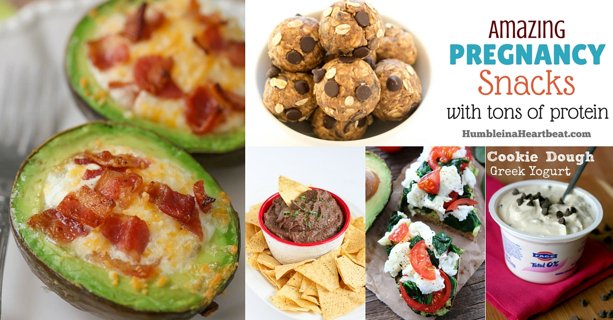40 amazing pregnancy snacks with tons of protein  humble