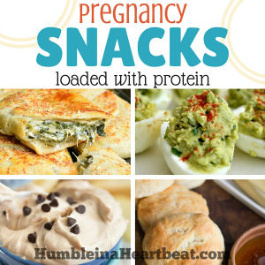 Pregnancy Snacks Loaded with Protein