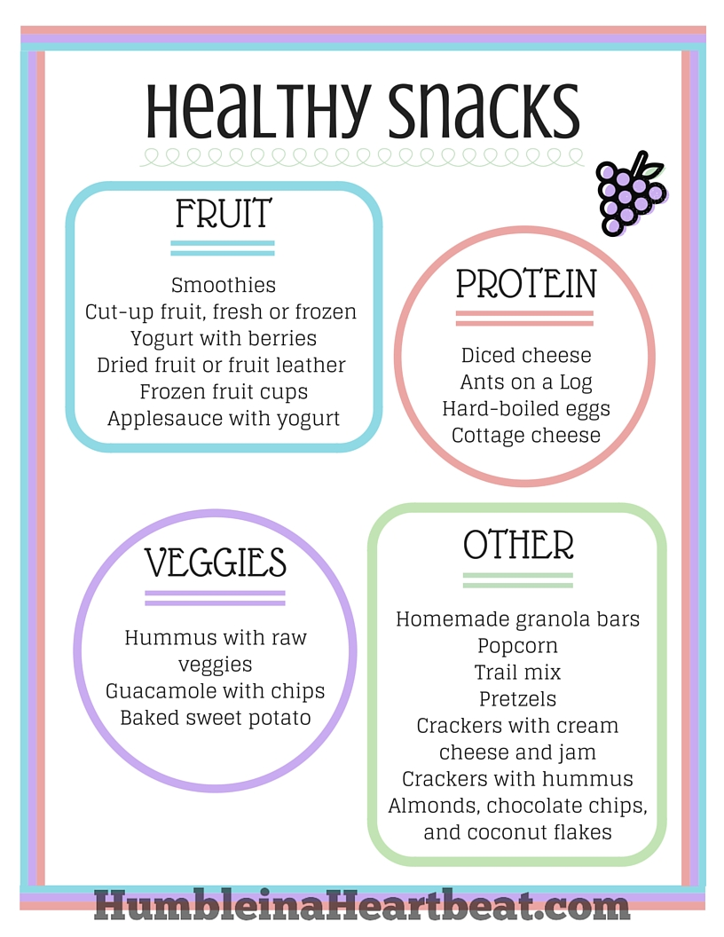 Your Guide To Successful Healthy Snacking With Kids