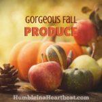 Eating in Season: Fall Edition