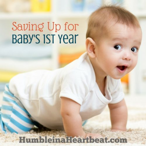 Brilliant Ways to Save Money for Your Baby's 1st Year
