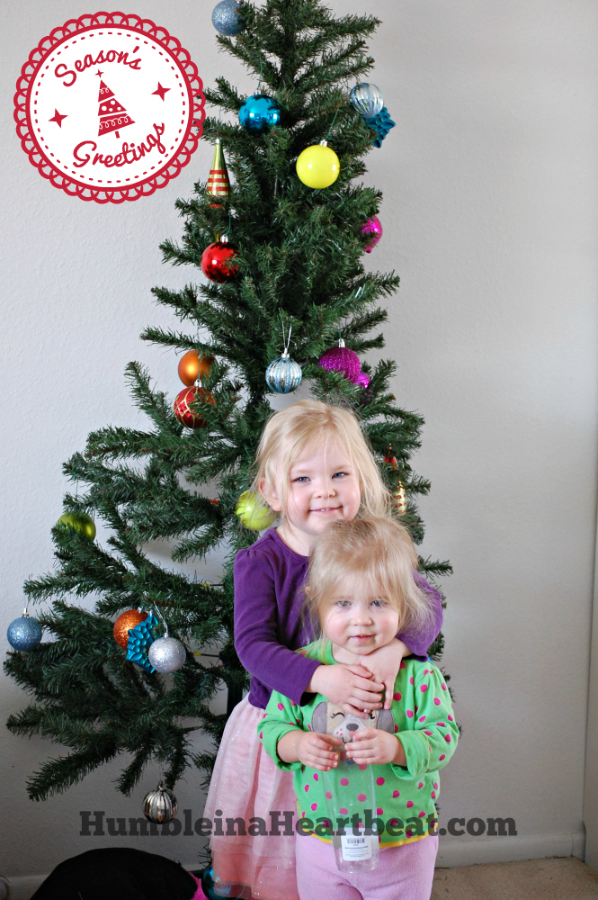 Christmas Tree Decorated by Toddlers