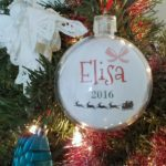 How to Design Name Cards for Photo Ornaments