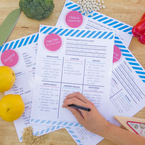 How to Handle Meal Planning When Life Gets Crazy
