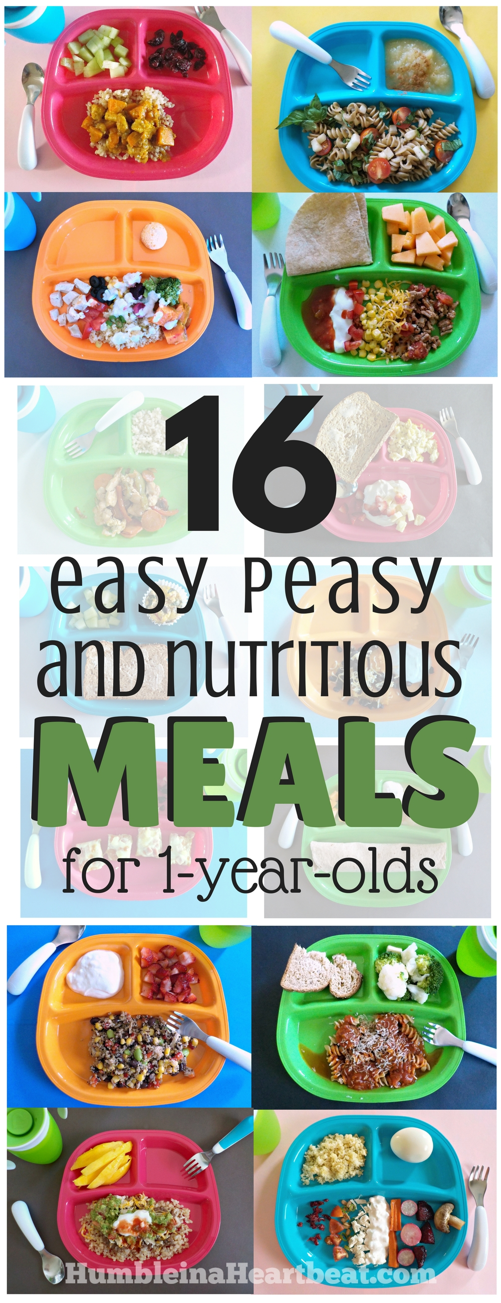 Nutritious Meal Ideas For 1 Year Olds That The Whole Family Can Eat