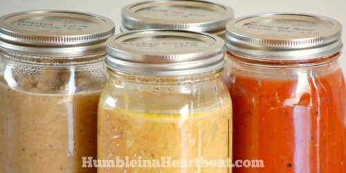Ever tried freezing soup in a glass jar and wound up with cracked jars? Follow these amazing tips for freezing and thawing soup in mason jars and you won't find any more cracks. Promise!