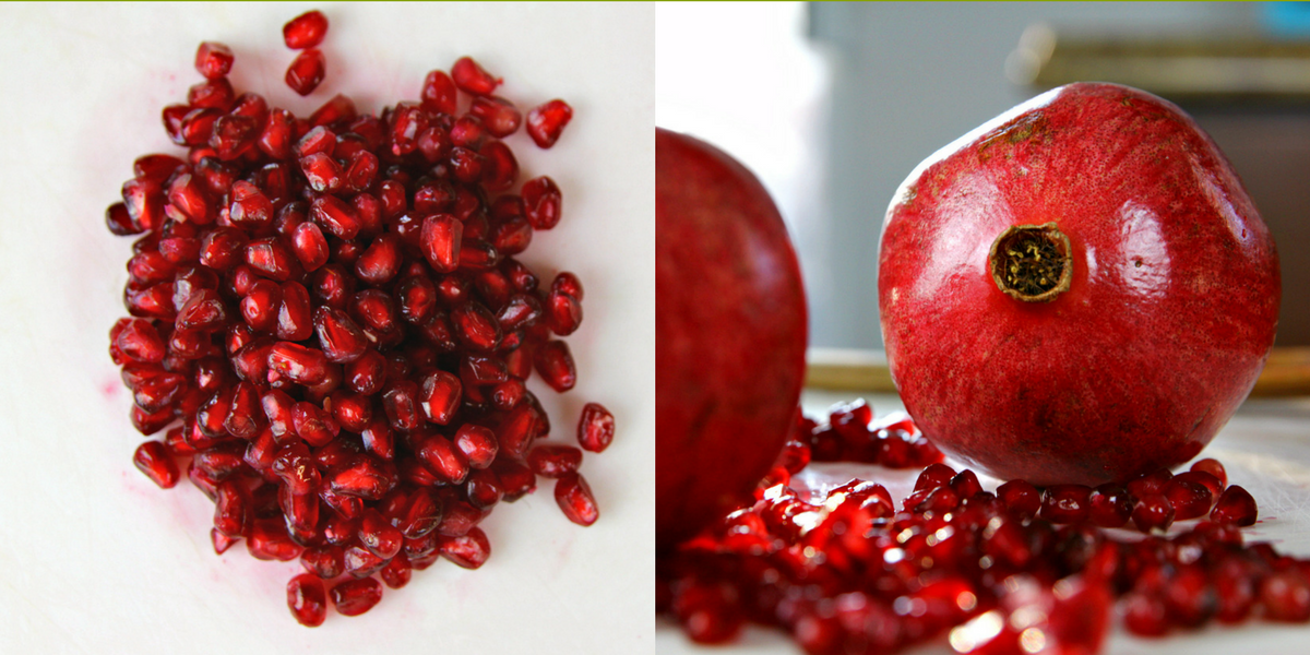 How to deseed a pomegranate in under 3 minutes video tutorial humble in a heartbeat - Deseed pomegranate less one minute video ...
