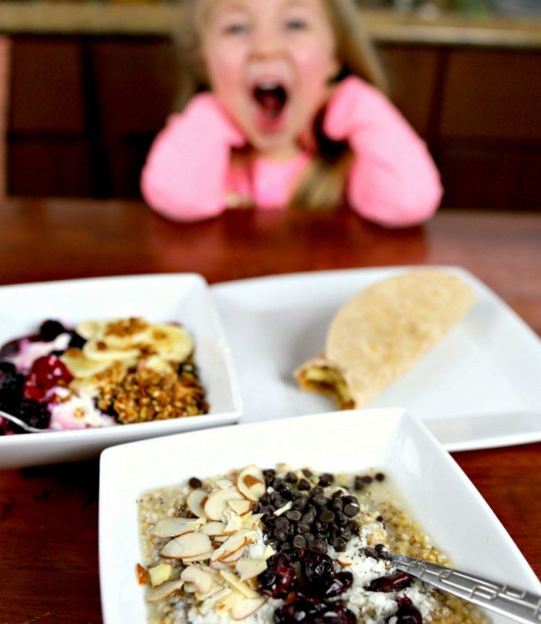 You can definitely eat nutritious breakfasts without spending tons of time in the kitchen. Check out these 3 frugal, easy, and totally yummy breakfast options that kids absolutely LOVE!
