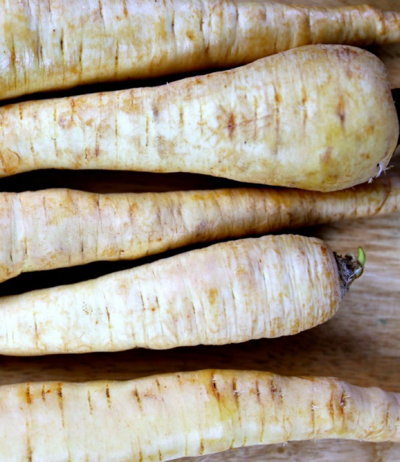 Monthly Produce Challenge Update #1: Parsnips