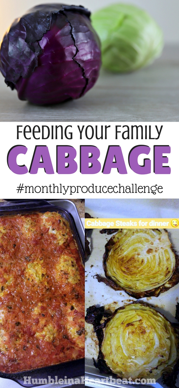 Maybe your family could stand to try some new vegetables but you're stuck in a rut. Join this monthly produce challenge for motivation to try one new veggie each month. Most recently we added lots of cabbage to our meals. Lots of recipe ideas!