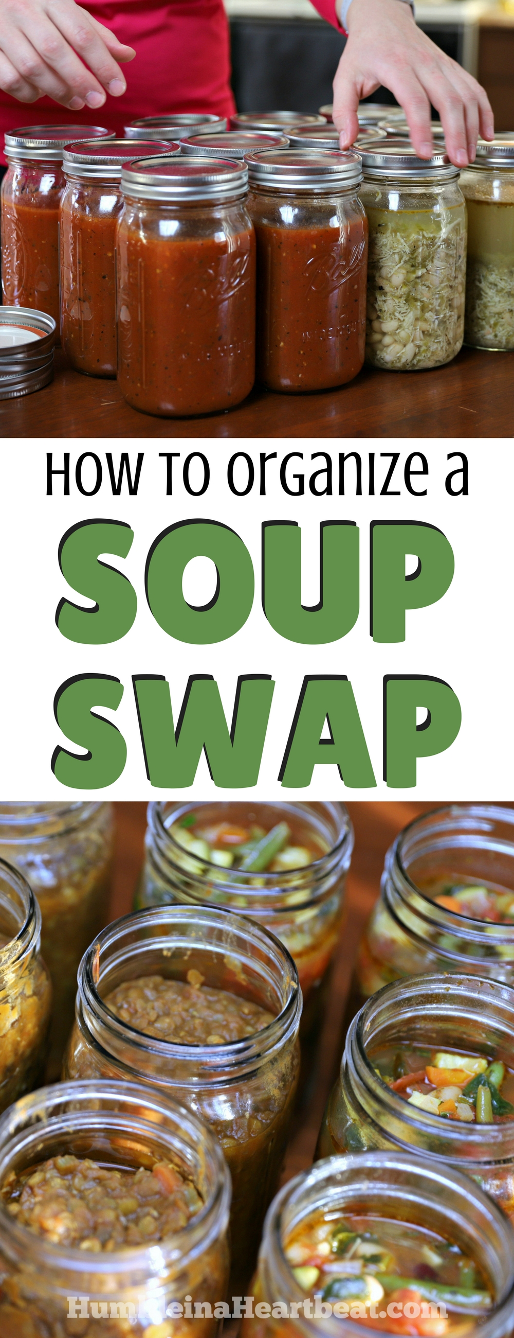 You need to get with your girlfriends and do a soup swap! It's so easy to organize, and you'll be able to stock your freezer with soup while getting some adult time with your friends! #freezermeals #quickmeals #soup