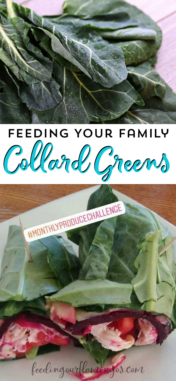 Eating in season is such a great way to save money and get awesome nutrients from the produce we eat. Try adding collard greens to your meals this month and find out how you and your family like to eat it!