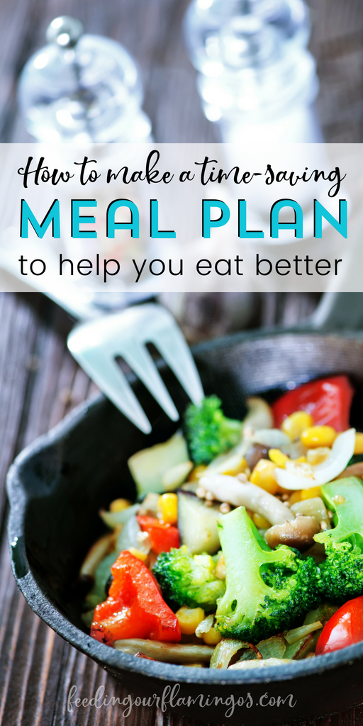 Meal planning can save you time and help you eat better if you do it the right way. Follow this 10-step meal planning method and start building a habit of meal planning now. Pretty soon you'll find you are eating a whole lot better and you'll have more time for your family! #mealplanning #savetime #healthyeating #healthyhabits