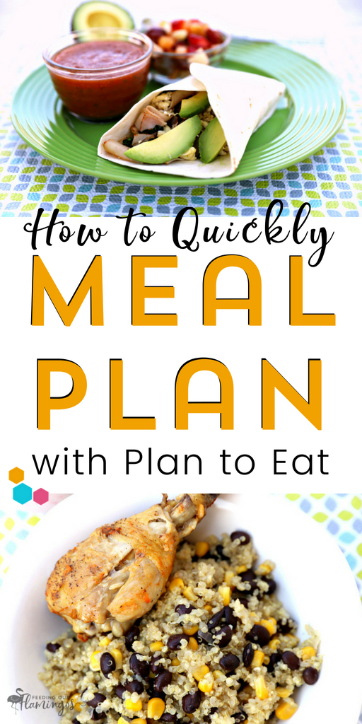 Wanna eat healthier and save time in the process? Give Plan to Eat a try. It's a robust meal planning system with so many features that will help you save time meal planning and cooking throughout the week. #plantoeat #mealplanning #review #healthyeating #savetime