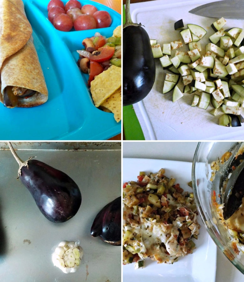 Tired of eating the same old vegetables every single week? Switch it up with this monthly produce challenge and try one new veggie each month. This month we tried eggplant 5 different ways!