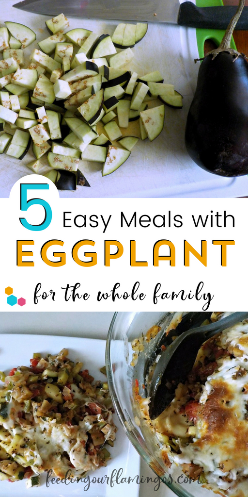 Tired of eating the same old vegetables every single week? Switch it up with this monthly produce challenge and try one new veggie each month. This month we tried eggplant 5 different ways! #eggplant #monthlyproducechallenge #summerproduce