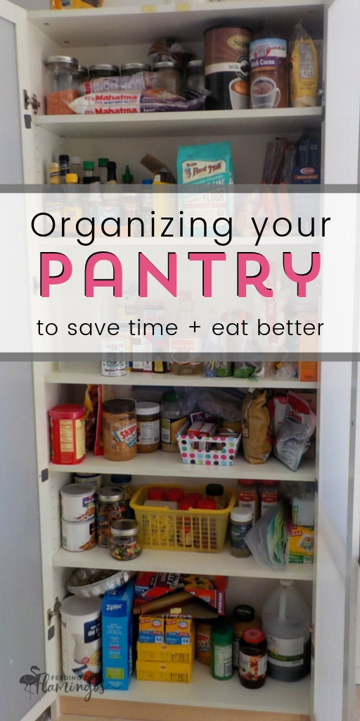 An organized pantry can totally make it easier to cook so you can make quick and easy meals that are healthy. Now, who doesn't want that?? #pantryorganization #healthyeating #springcleaning