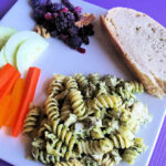 Pesto Pasta with Chicken and Deliciously Easy Sides